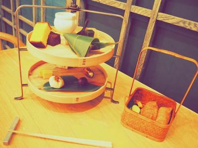 都内の和モダンな和菓子屋《HIGASHIYA》で自分への贅沢なご褒美を♪
